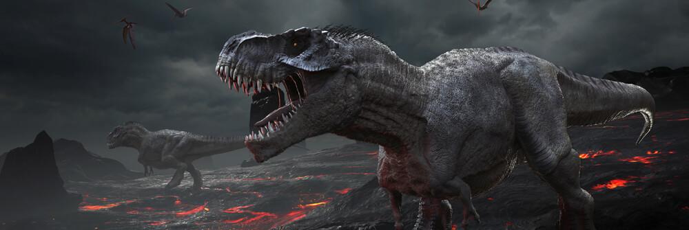 Papier Peint Panoramique Dino