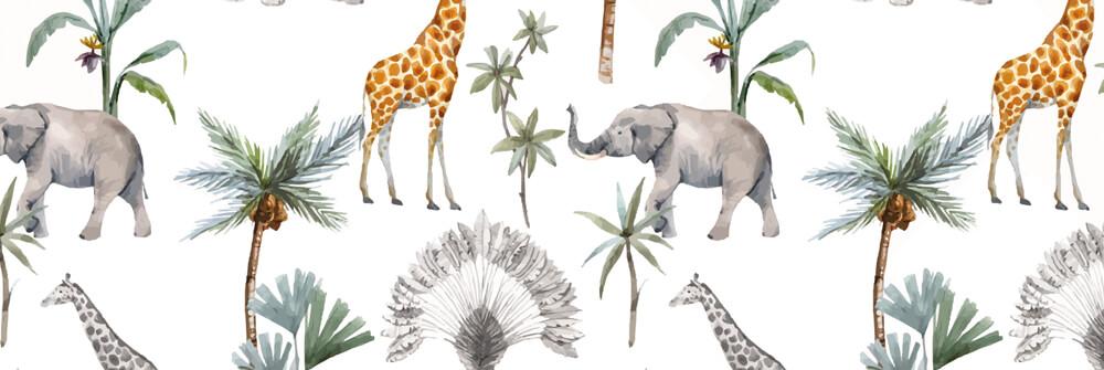 Papier peint avec motifs pour enfants