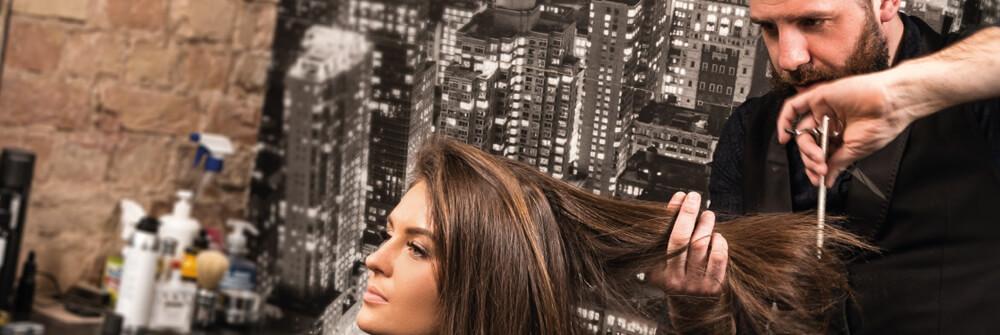 Papier Peint Panoramique pour coiffeurs et instituts de beauté