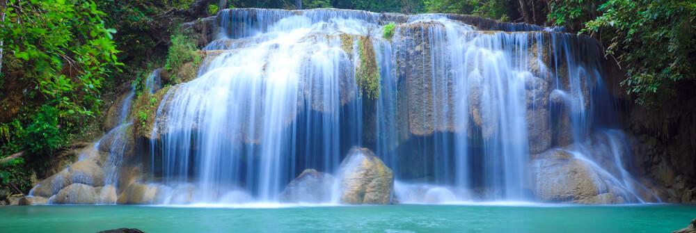 Papier Peint Panoramique chutes d'eau