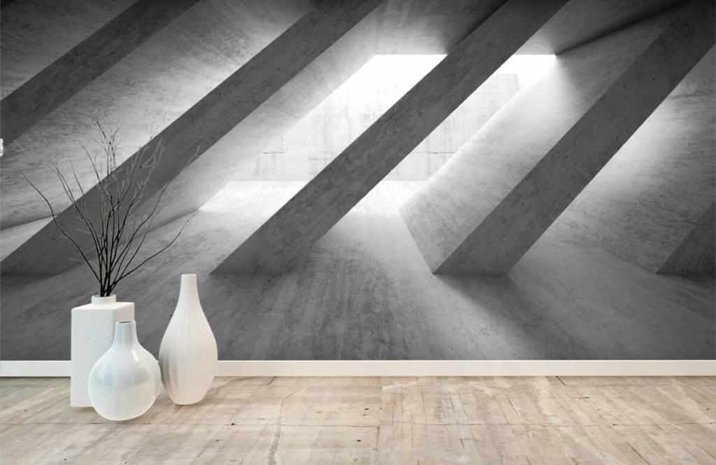 Other Textures & Surfaces - Piliers en béton en 3D - Chambre à coucher 1