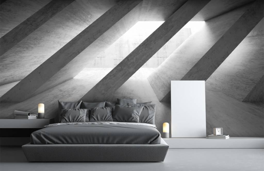 Other Textures & Surfaces - Piliers en béton en 3D - Chambre à coucher 3