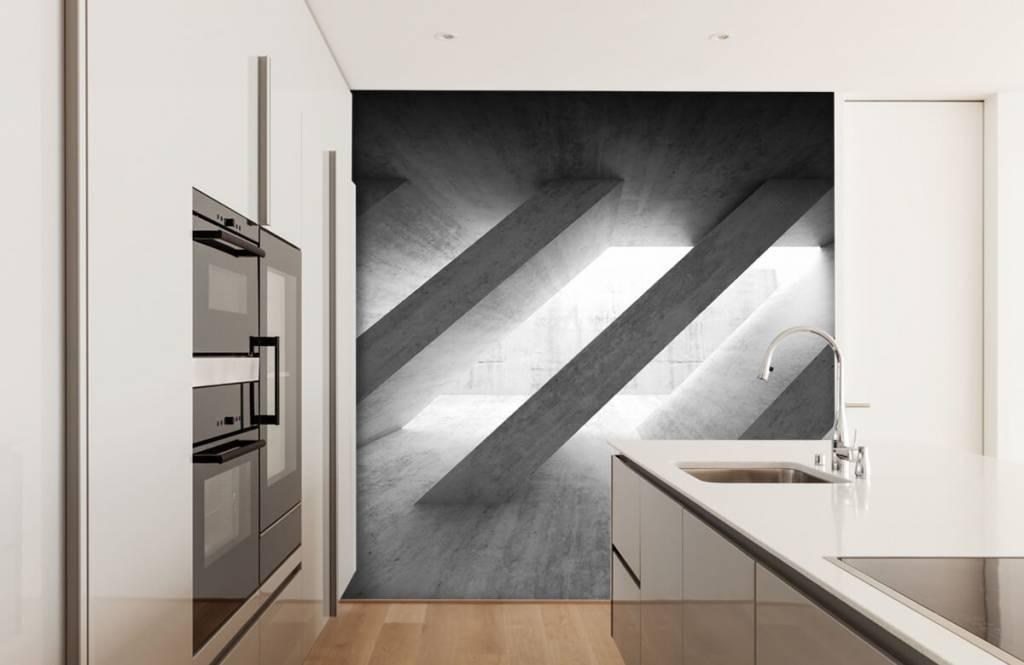 Other Textures & Surfaces - Piliers en béton en 3D - Chambre à coucher 4