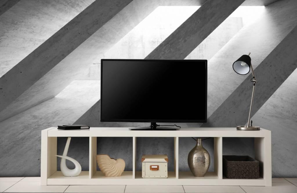 Other Textures & Surfaces - Piliers en béton en 3D - Chambre à coucher 5