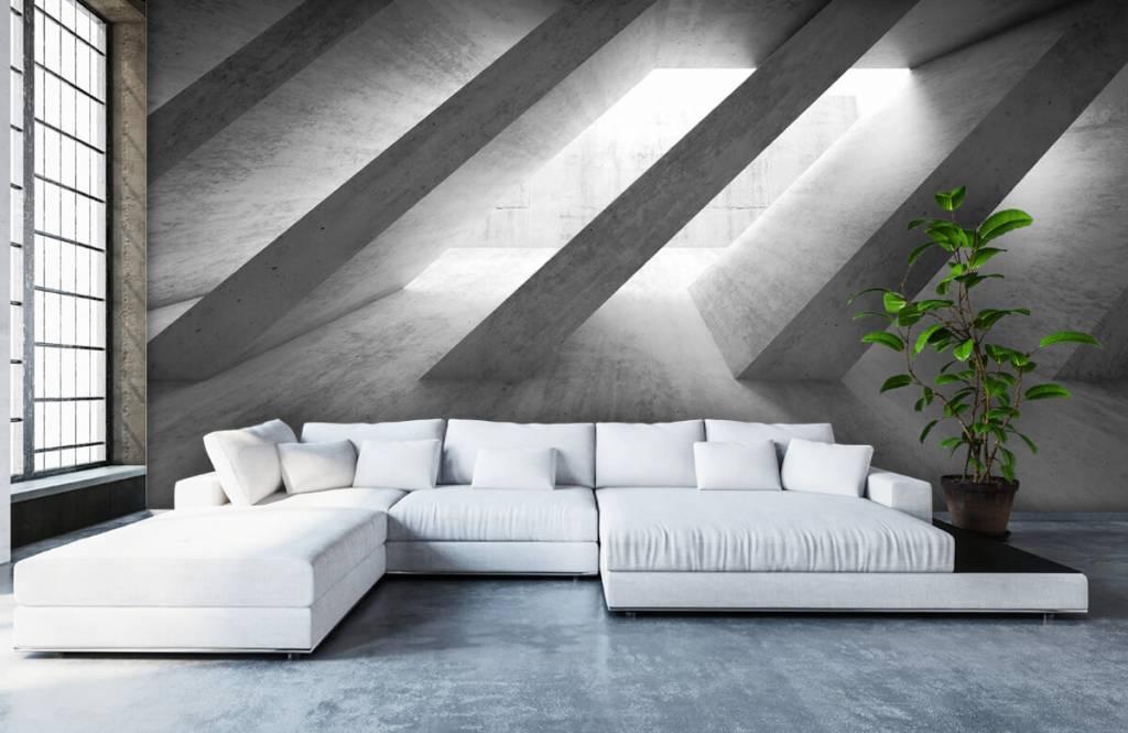 Other Textures & Surfaces - Piliers en béton en 3D - Chambre à coucher 6