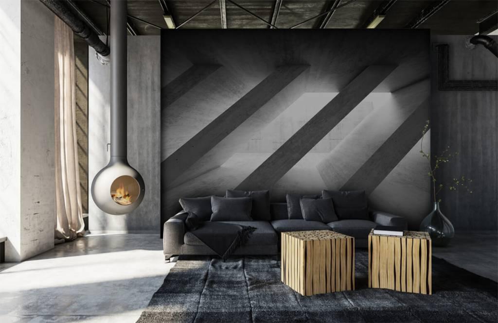 Other Textures & Surfaces - Piliers en béton en 3D - Chambre à coucher 7