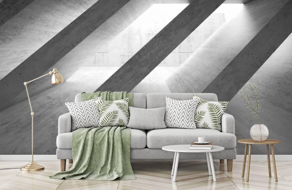 Other Textures & Surfaces - Piliers en béton en 3D - Chambre à coucher 8