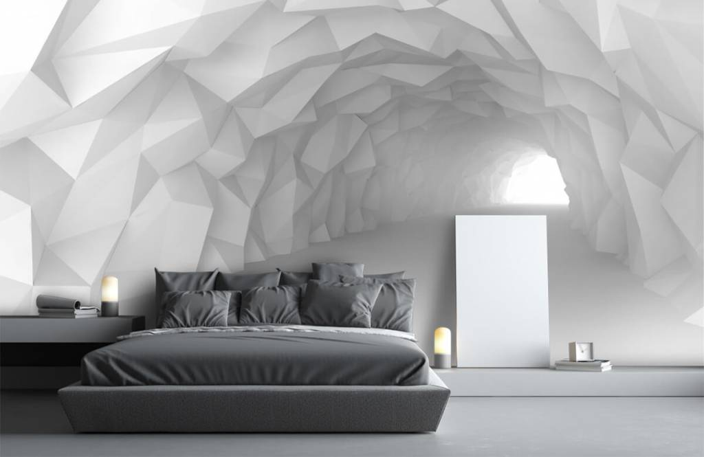 Other - Tunnel pointu en 3D - Chambre d'adolescent 3