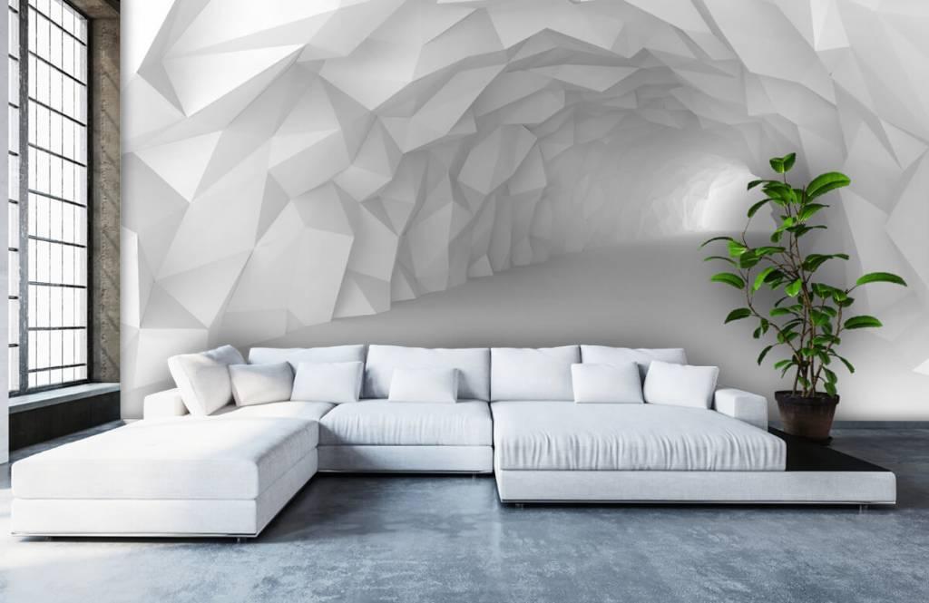 Other - Tunnel pointu en 3D - Chambre d'adolescent 5