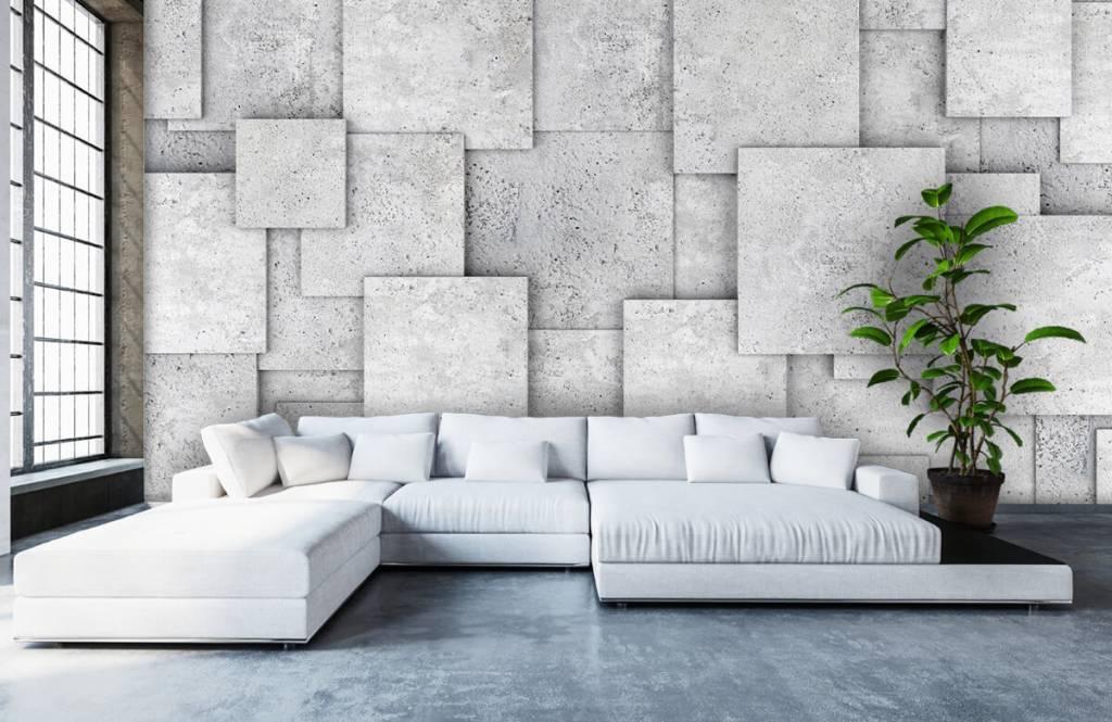 Other Textures & Surfaces - Carreaux carrés en 3D - Chambre à coucher 1