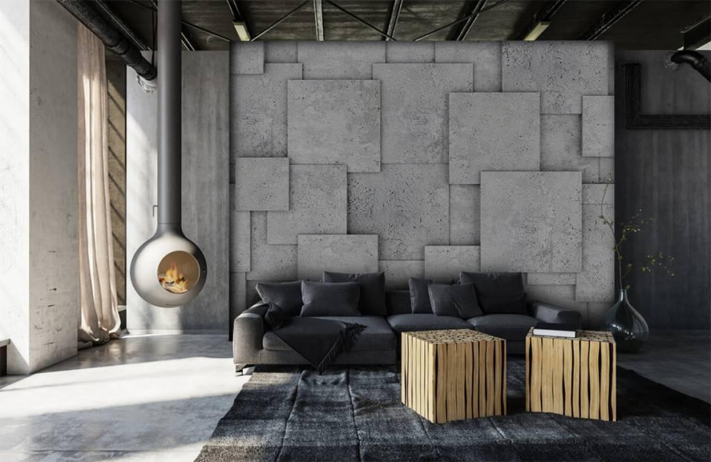 Other Textures & Surfaces - Carreaux carrés en 3D - Chambre à coucher 6