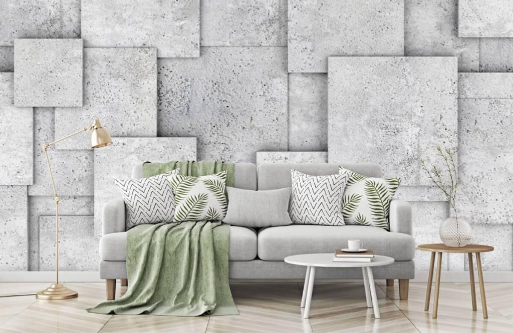 Other Textures & Surfaces - Carreaux carrés en 3D - Chambre à coucher 7