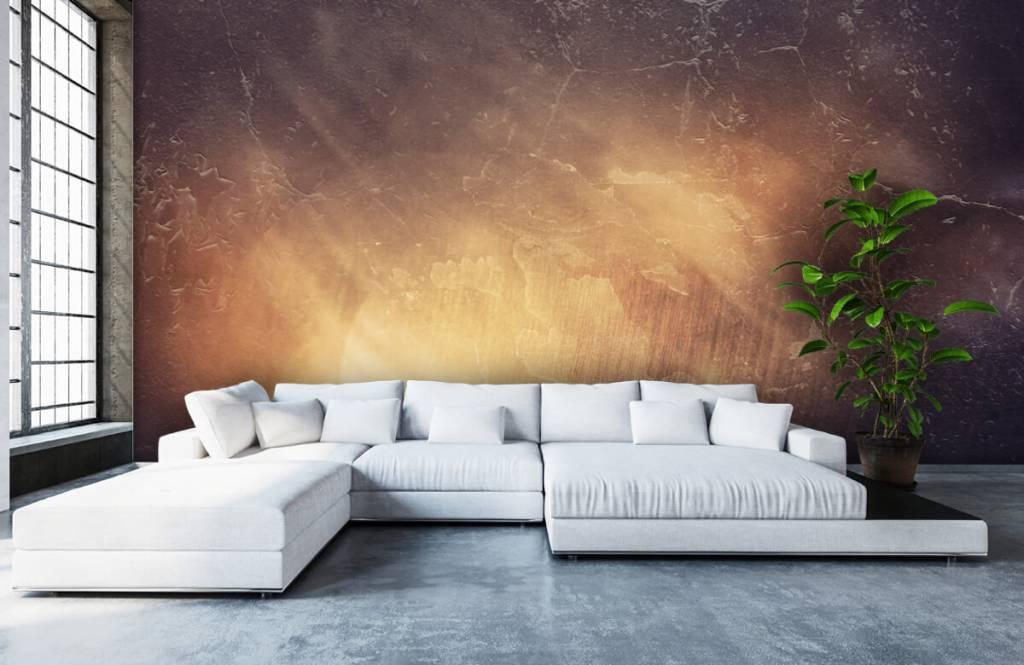 Papier peint en pierre - Rayons de soleil - Gérant 6