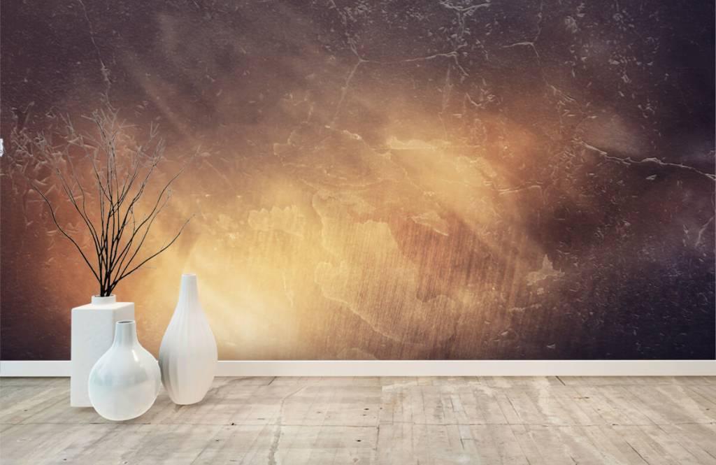 Papier peint en pierre - Rayons de soleil - Gérant 8