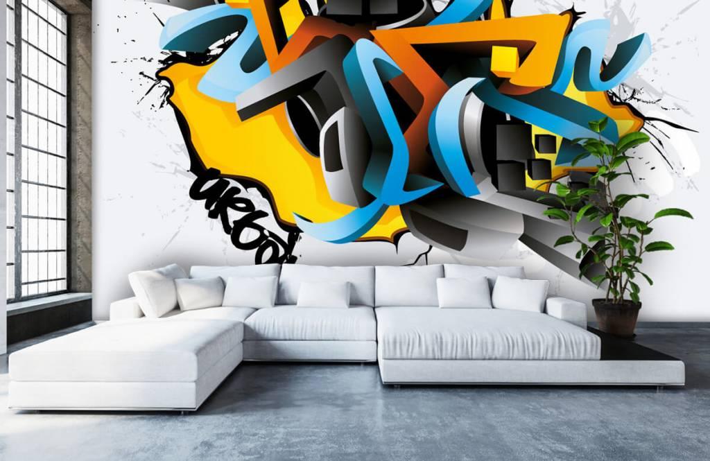 Graffiti - Graffitis 3D - Chambre d'adolescent 5