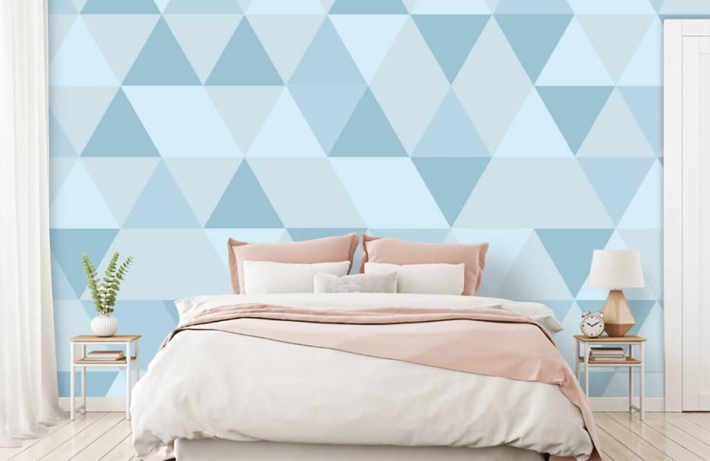 Other - Triangles bleus - Chambre des enfants 1