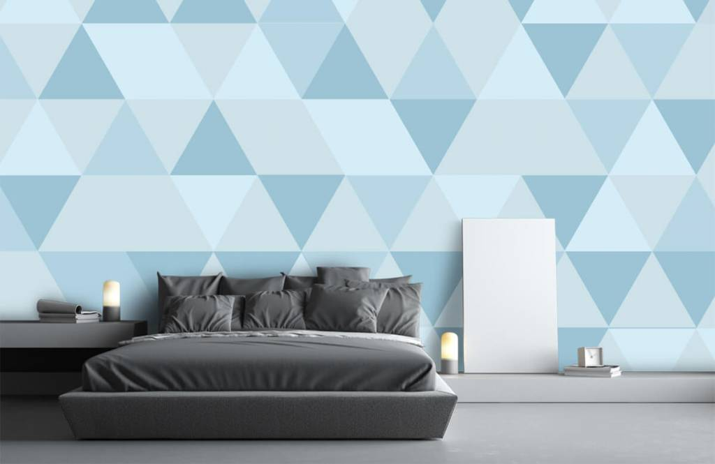 Other - Triangles bleus - Chambre des enfants 2