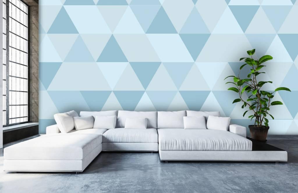 Other - Triangles bleus - Chambre des enfants 5