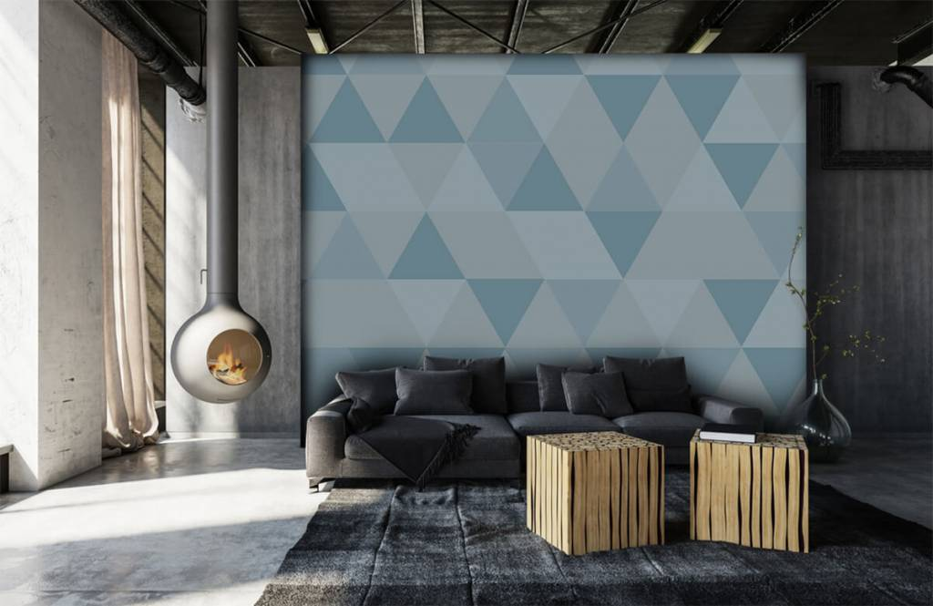 Other - Triangles bleus - Chambre des enfants 6