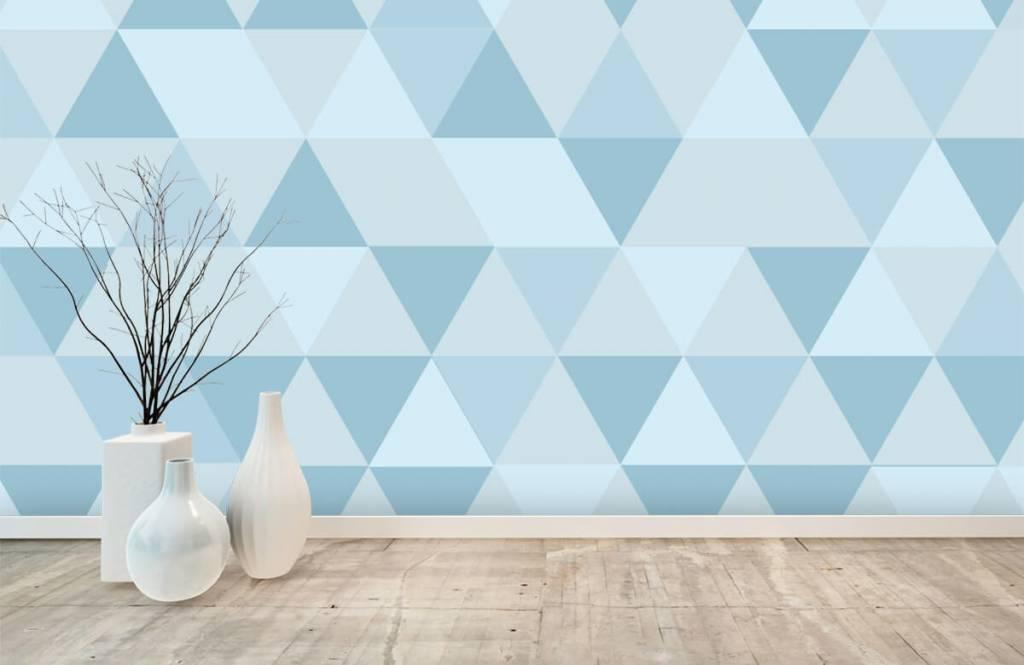 Other - Triangles bleus - Chambre des enfants 8