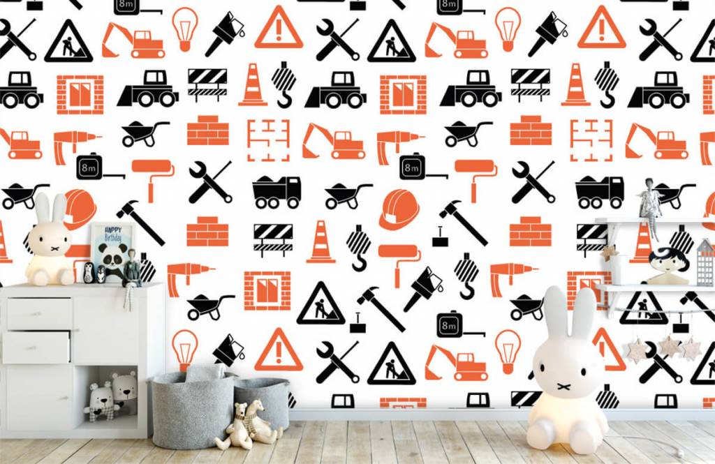 Other - Véhicules et matériaux de construction - Chambre des enfants 1