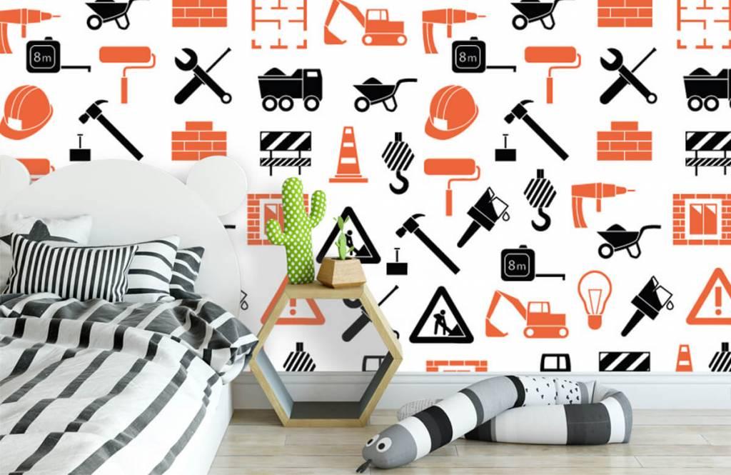 Other - Véhicules et matériaux de construction - Chambre des enfants 3