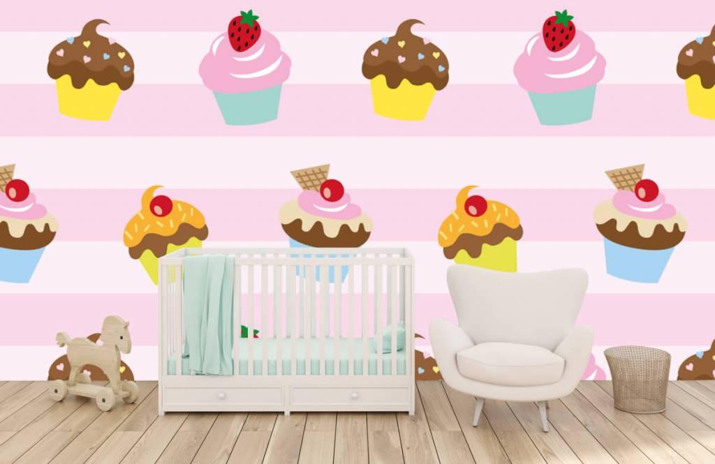 Other - Cupcakes - Chambre des enfants 5