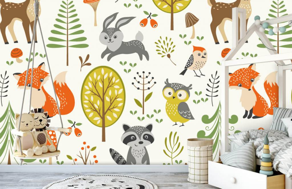 Other - Animaux dans la forêt - Chambre des enfants 4