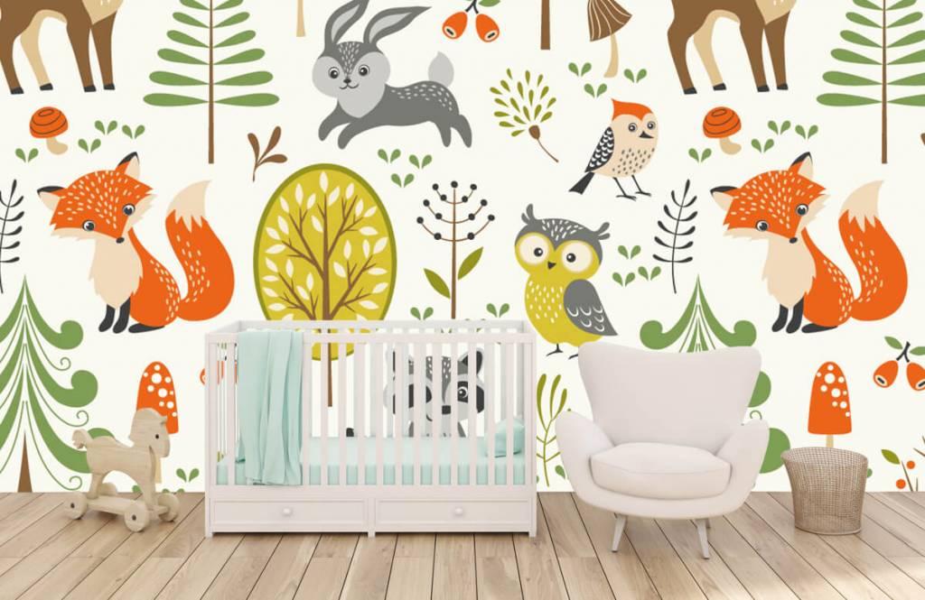 Other - Animaux dans la forêt - Chambre des enfants 6