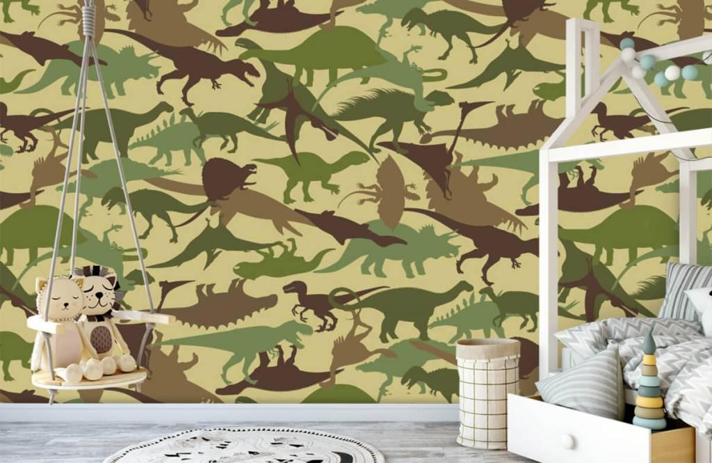 Dinosaurs - Dino camouflage - Chambre des enfants 1
