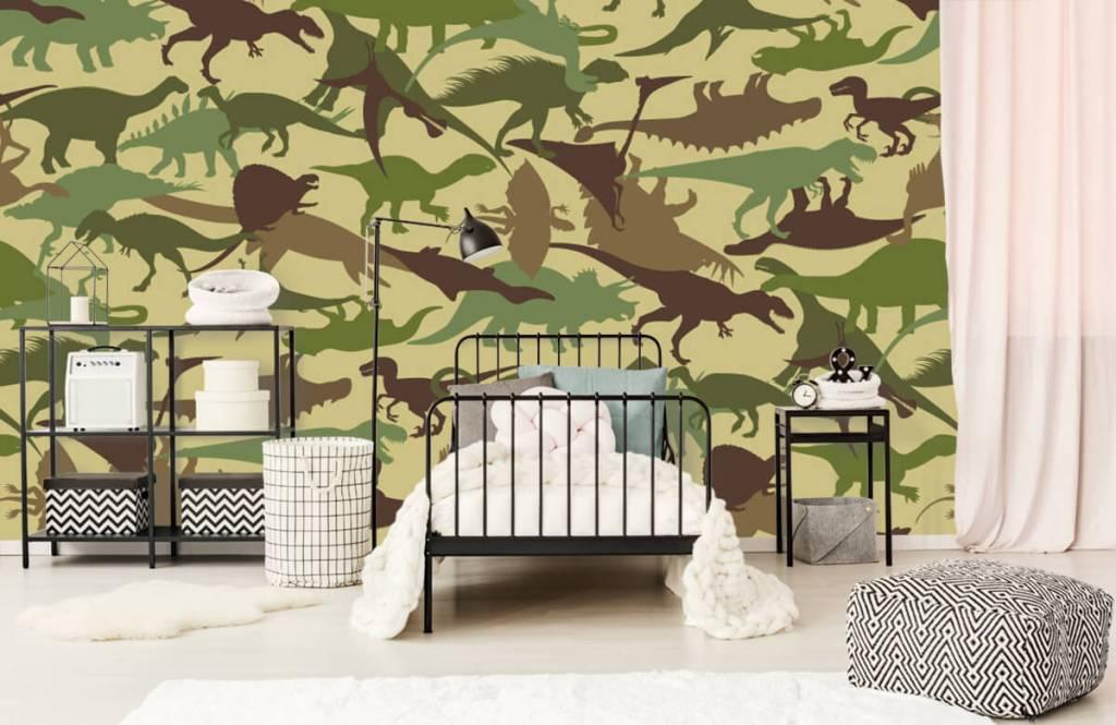 Dinosaurs - Dino camouflage - Chambre des enfants 2
