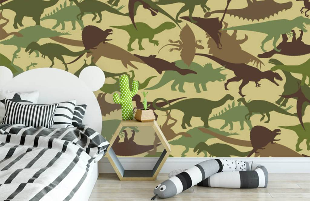Dinosaurs - Dino camouflage - Chambre des enfants 3