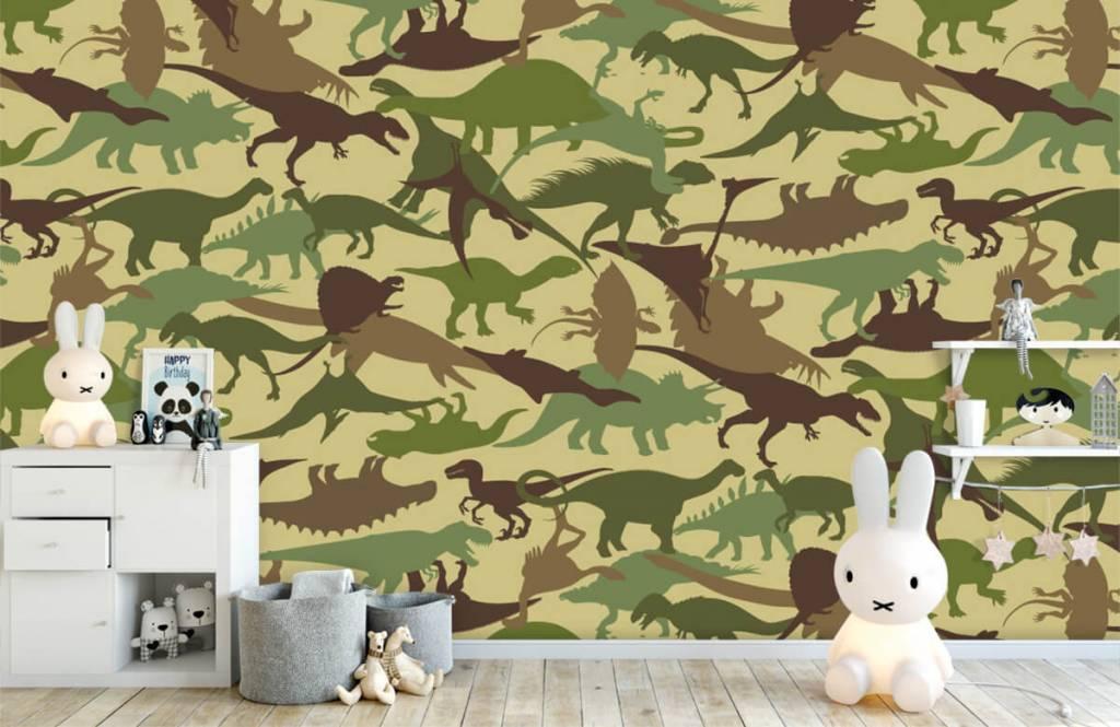 Dinosaurs - Dino camouflage - Chambre des enfants 4