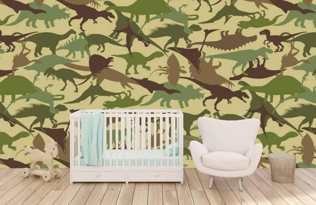 Dinosaurs - Dino camouflage - Chambre des enfants 5
