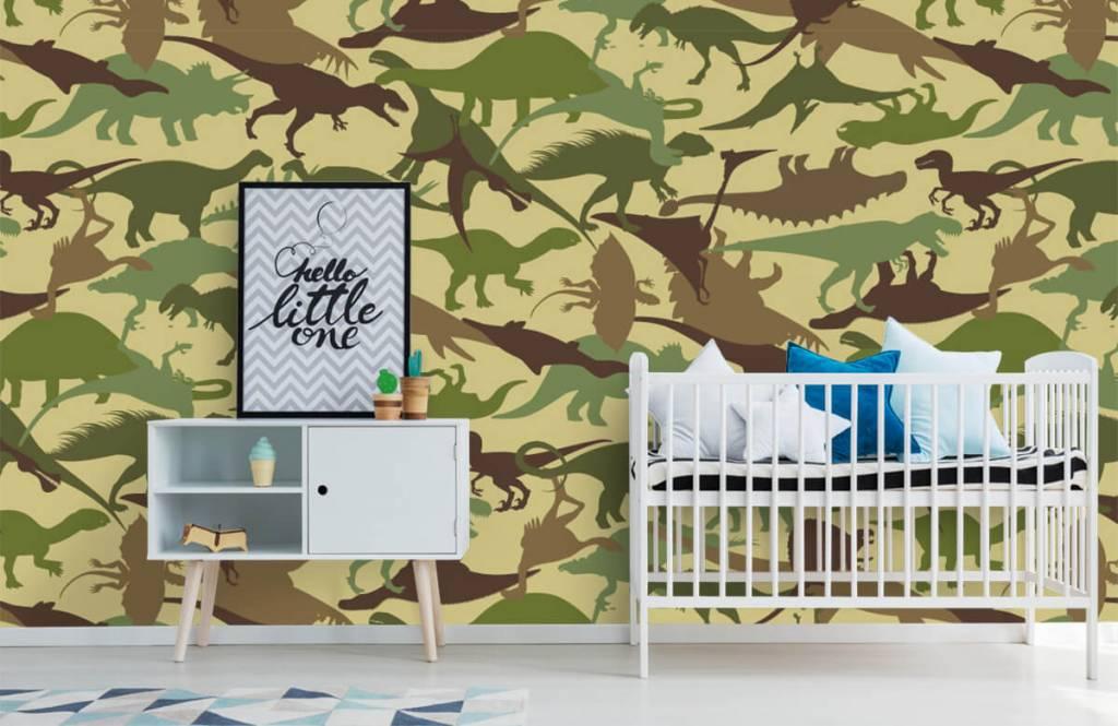 Dinosaurs - Dino camouflage - Chambre des enfants 6