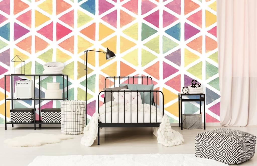 Other - Triangles à effet aquarelle - Chambre des enfants 1
