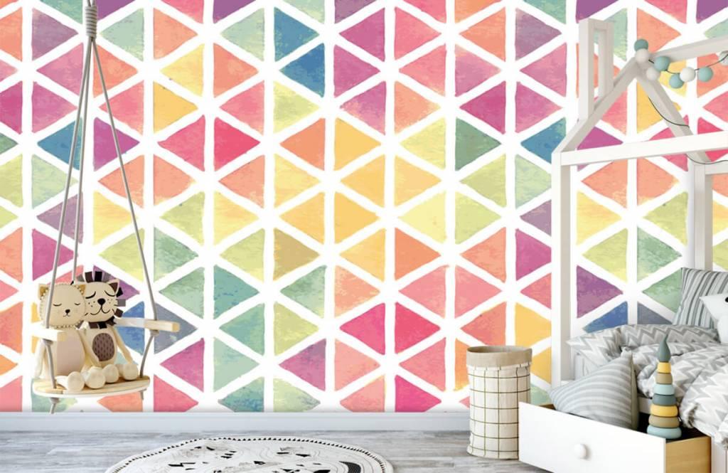 Other - Triangles à effet aquarelle - Chambre des enfants 5