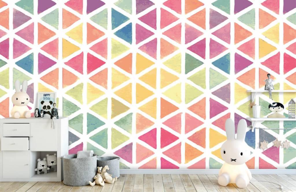 Other - Triangles à effet aquarelle - Chambre des enfants 6