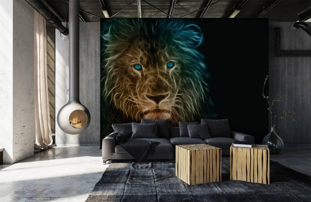 Animals - Lion fantaisiste - Chambre d'adolescent 1