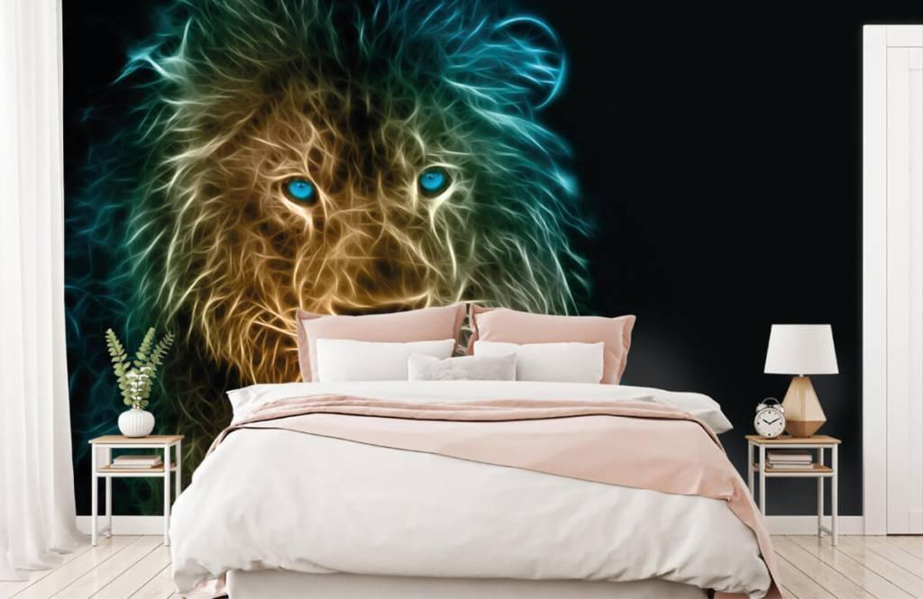 Animals - Lion fantaisiste - Chambre d'adolescent 2