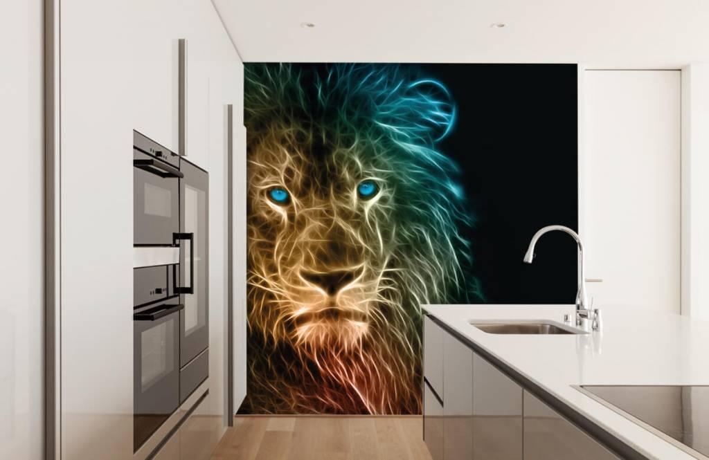 Animals - Lion fantaisiste - Chambre d'adolescent 4