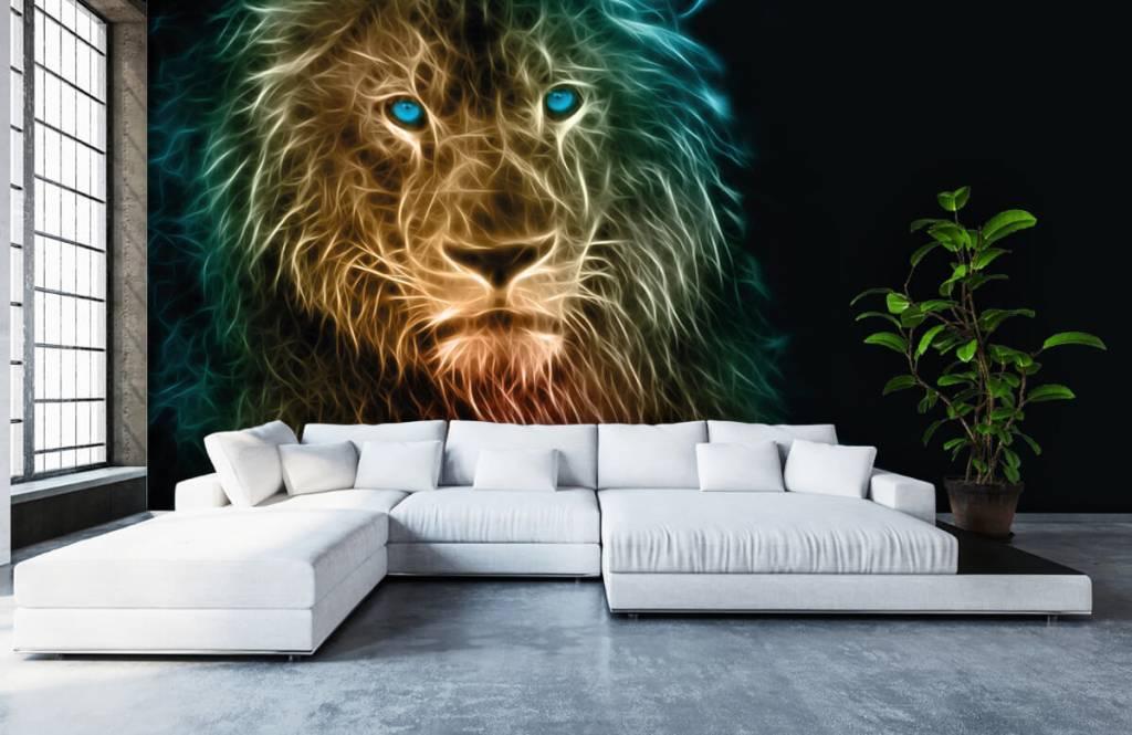 Animals - Lion fantaisiste - Chambre d'adolescent 6