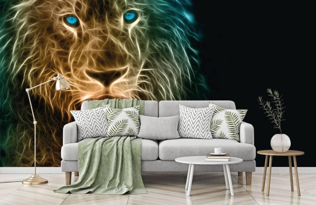 Animals - Lion fantaisiste - Chambre d'adolescent 7