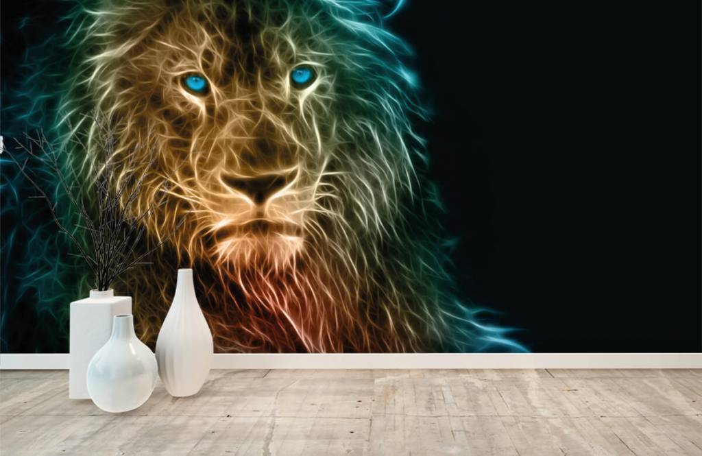 Animals - Lion fantaisiste - Chambre d'adolescent 8