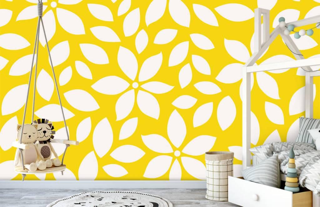 Other - Motif fleur jaune - Chambre de bébé 1
