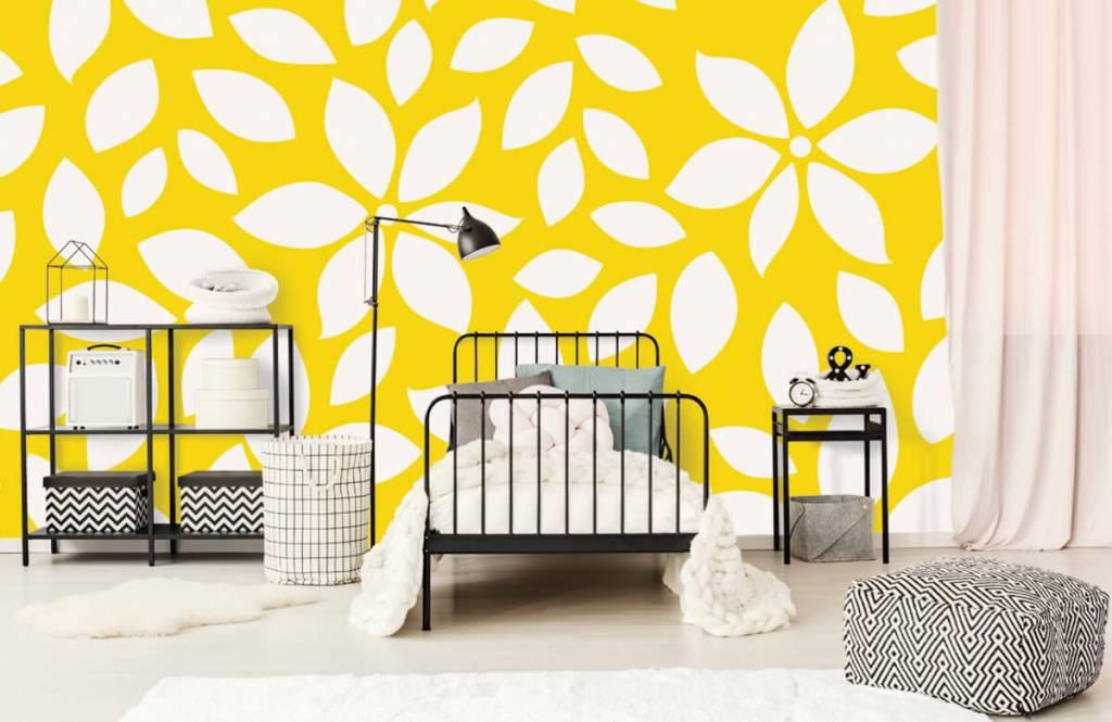 Other - Motif fleur jaune - Chambre de bébé 2