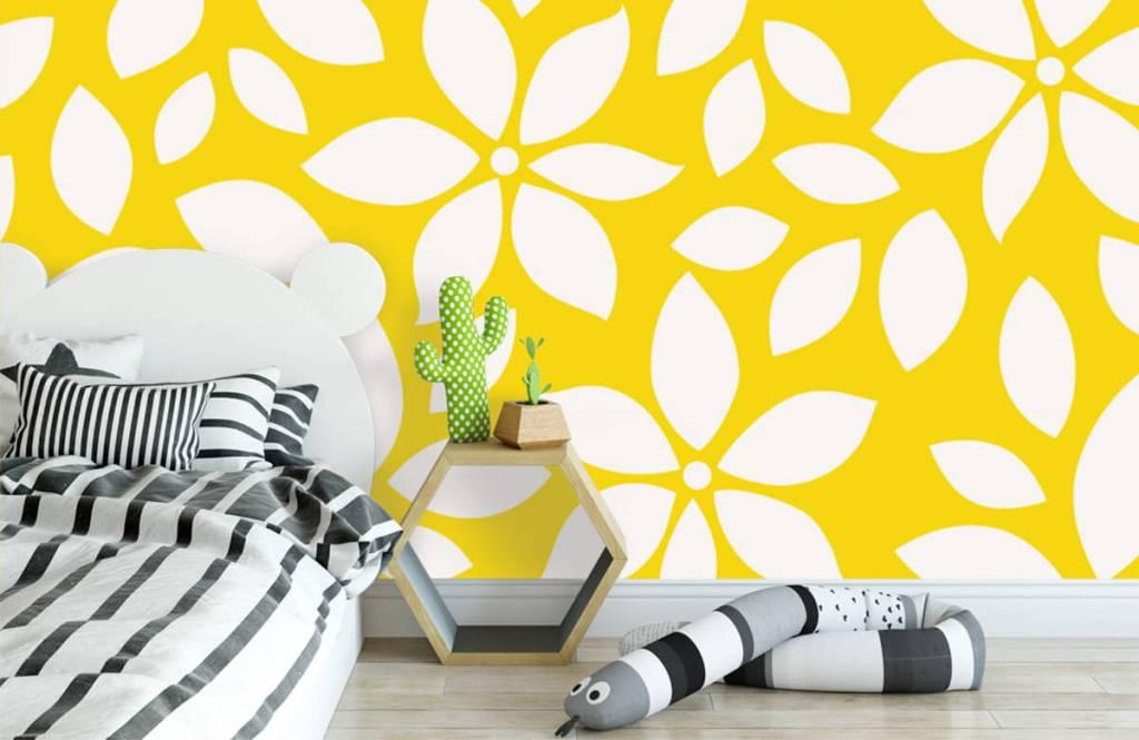 Other - Motif fleur jaune - Chambre de bébé 3