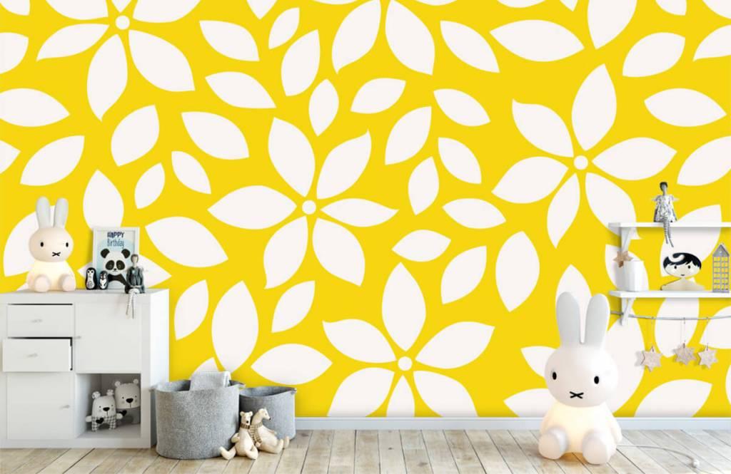 Other - Motif fleur jaune - Chambre de bébé 4