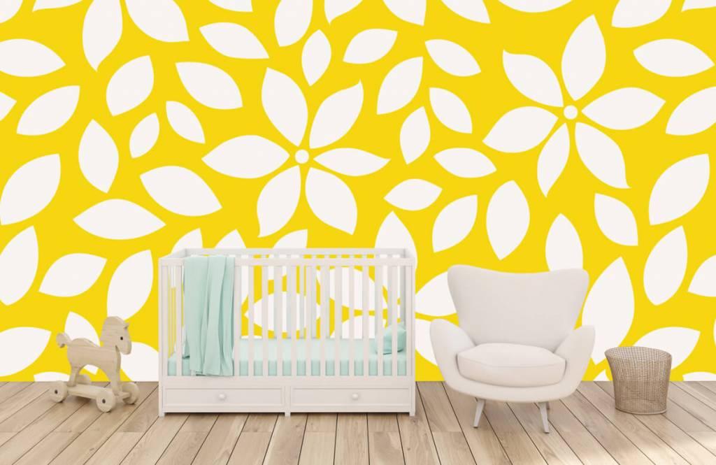 Other - Motif fleur jaune - Chambre de bébé 5