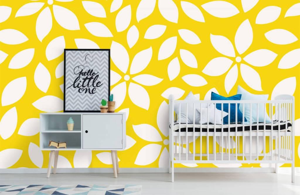 Other - Motif fleur jaune - Chambre de bébé 6